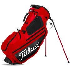 Titleist Hybrid 5 Personalized Stand Bag - Red-Black