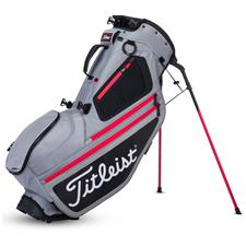 Titleist Hybrid 5 Stand Bag - Sleet-Black-Red