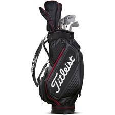 Titleist Midsize Bag Jet Black Collection - Jet Black-Black-Red