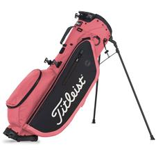 Titleist Players 4 Personalized Stand Bag - Island Red-Black