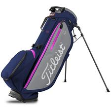 Titleist Players 4 Plus Stand Bag - Navy-Grey-Magenta