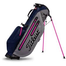 Titleist Players 4 StayDry Stand Bag - Charcoal-Navy-Magenta