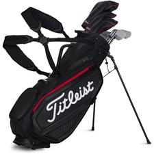 Titleist Custom Logo Premium Stand Bag Jet Black Collection