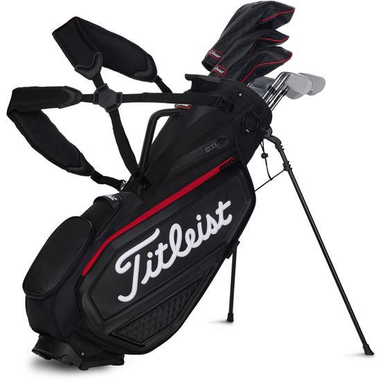 Titleist Premium Stand Bag Jet Black Collection