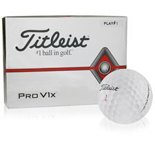 Titleist Pro V1x Player Number Golf Balls - All #1's