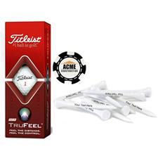 Titleist Custom Logo Sleeve, Chip Marker and Tee Kit