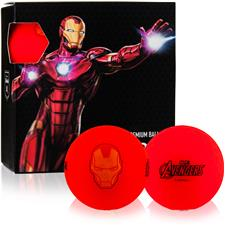 Volvik Marvel Vivid Golf Balls - Iron Man - 4-Ball Pack