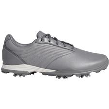Adidas Grey Three-Glory Pink-Grey Four Adipure DC2 Golf Shoes for Women