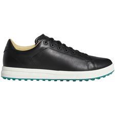 Adidas Core Black-Grey Six-Glory Green Adipure SP 2.0 Golf Shoes