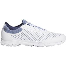 Adidas White-Silver Metallic-Tech Indigo Adipure Sport 2 Golf Shoes for Women