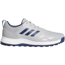 Adidas Grey Two-Tech Indigo-White CP Traxion Spikeless Golf Shoes