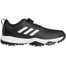 Adidas Core Black-White-Solar Red Codechaos BOA Golf Shoes for Juniors