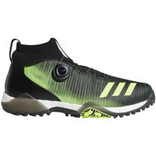 Adidas Core Black-Signal Green-White Codechaos BOA Golf Shoes