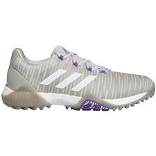 Adidas Metal Grey-Crystal White-Purple Tint Codechaos Golf Shoes for Women
