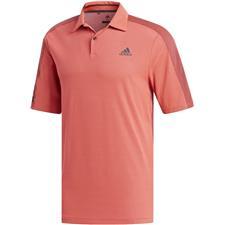 Adidas Flash Red-Black Sport Aeroready Polo Shirt