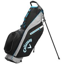 Callaway Golf Fairway C Personalized Stand Bag Double Strap - Black-Silver-Cyan