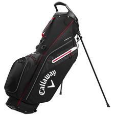 Callaway Golf Fairway C Personalized Stand Bag Double Strap - Black-Silver-Red