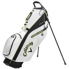 Callaway Golf Fairway C Stand Bag Double Strap - White-Black-Yellow