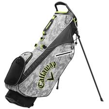 Callaway Golf Hyperlite Zero Double Strap Personalized Stand Bag 2020 Model - Digi Camo-Yellow-White