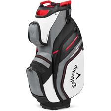 Callaway Golf ORG 14 Cart Bag 2020 Model - White-Charcoal-Black-Red
