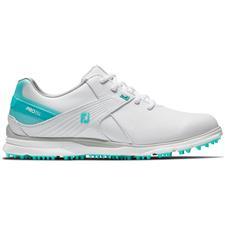 FootJoy White-Aqua Pro/SL Golf Shoes for Women