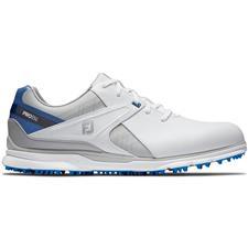 FootJoy White-Blue-Grey Pro/SL Golf Shoes