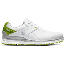 FootJoy White-Lime Pro/SL Golf Shoes