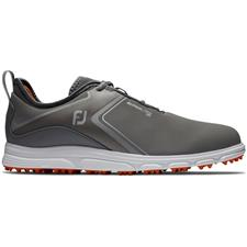 FootJoy Grey-Orange Superlites XP Spikeless Golf Shoe