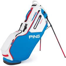 PING Hoofer 14 Stand Bag - Bright Blue-White-Scarlet