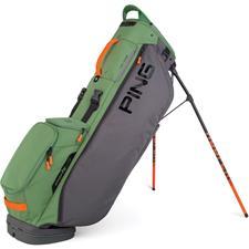 PING Hooferlite Stand Personalized Bag - Grey-Olive-Orange