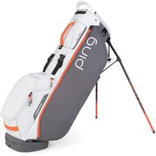 PING Hooferlite Stand Personalized Bag - Grey-White-Coral