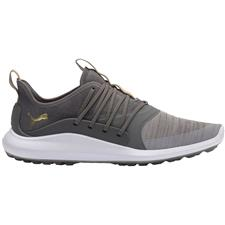Puma Gray Violet-Team Gold-Quiet Shade Ignite NXT Solelace Golf Shoes - 2020 Model
