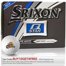 Srixon Prior Generation Q-Star Custom Logo Golf Balls