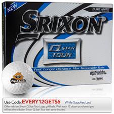 Srixon Custom Logo Q-Star Tour 3 Golf Balls