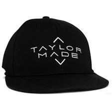 Taylor Made Men's Tour Stretch Flat Bill Snapback Hat 2020 - Black