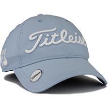 Titleist Tour Performance Ball Marker Hat for Women 2020 - Blue Fog-White