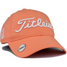 Titleist Tour Performance Ball Marker Hat for Women 2020 - Cantaloupe-White
