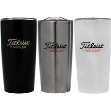 Titleist Custom Logo Travel Tumbler with 3-Ball Sleeve