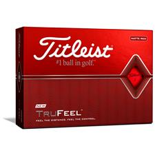 Titleist TruFeel Matte Red Golf Balls