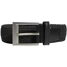 Adidas Braided Stretch Belt - Black - Large/X-Large