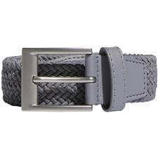 Adidas Braided Stretch Belt - Grey Three - Large/X-Large