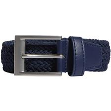 Adidas Braided Stretch Belt - Collegiate Navy - Large/X-Large