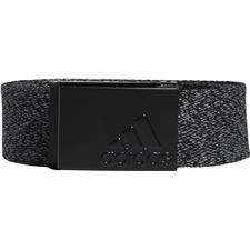 Adidas Heathered Web Belt - One Size Fits Most - Black
