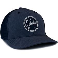 Adidas Men's Patch Trucker Hat - Collegiate Navy Mel