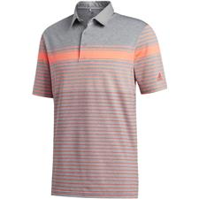 Adidas Men's Ultimate365 Engineered Heathered Polo Shirt