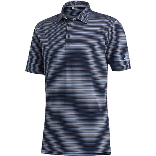 Adidas Men's Ultimate365 Pencil Stripe Polo Shirt