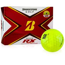 Bridgestone Custom Logo Tour B RX Yellow Golf Balls