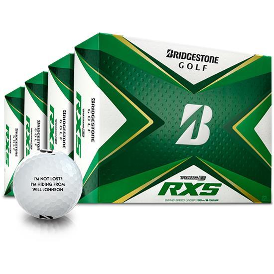 Bridgestone Tour B RXS Golf Balls - Buy 3 DZ Get 1 DZ Free