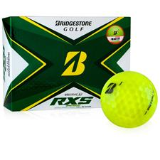 Bridgestone Tour B RXS Yellow Personalized Golf Balls