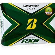 Bridgestone Tour B RXS Yellow Golf Balls